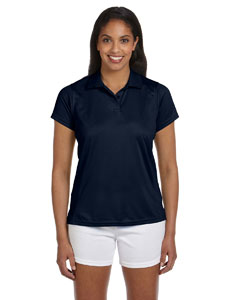 Navy Women's 4 oz. Polytech Polo