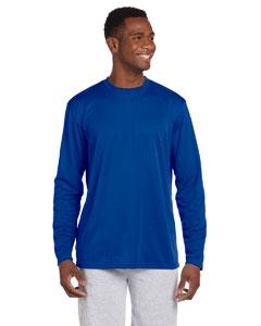 True Royal 4.2 oz. Athletic Sport Long-Sleeve T-Shirt