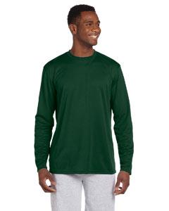 Dark Green 4.2 oz. Athletic Sport Long-Sleeve T-Shirt