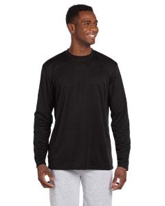Black 4.2 oz. Athletic Sport Long-Sleeve T-Shirt