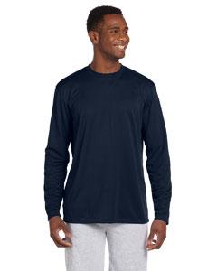 Navy 4.2 oz. Athletic Sport Long-Sleeve T-Shirt