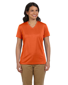 Team Orange Women's 4.2 oz. Athletic Sport T-Shirt