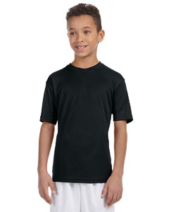 Black Youth 4.2 oz. Athletic Sport T-Shirt