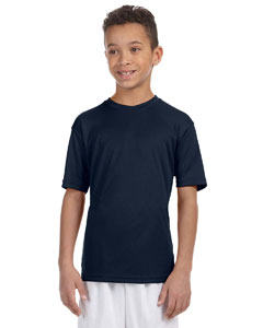 Navy Youth 4.2 oz. Athletic Sport T-Shirt