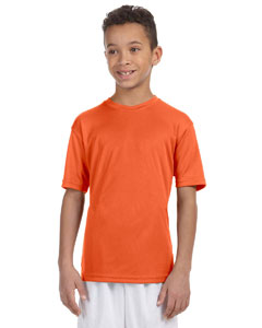 Team Orange Youth 4.2 oz. Athletic Sport T-Shirt
