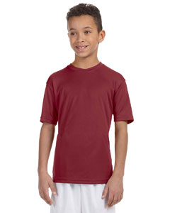 Maroon Youth 4.2 oz. Athletic Sport T-Shirt