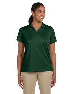 Dark Green Women's 3.5 oz. Double Mesh Sport Shirt