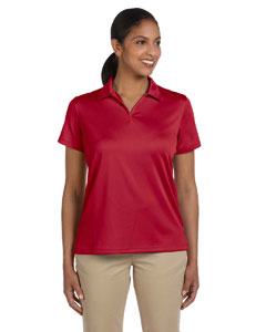 Red Women's 3.5 oz. Double Mesh Sport Shirt
