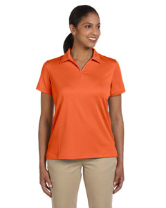 Team Orange Women's 3.5 oz. Double Mesh Sport Shirt