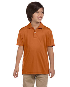 Texas Orange Youth Double Mesh Sport Shirt