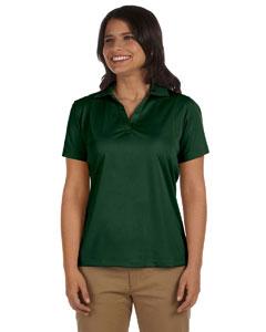 Dark Green Women's 3.8 oz. Micro Piqué Polo