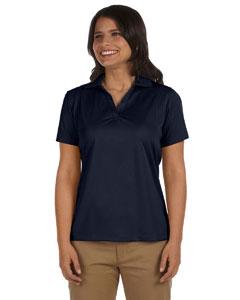 Navy Women's 3.8 oz. Micro Piqué Polo