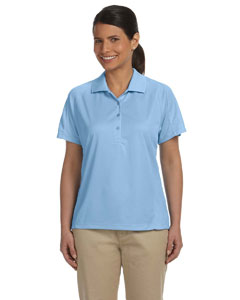 Light Blue Women's 3.8 oz. Polytech Mesh Insert Polo