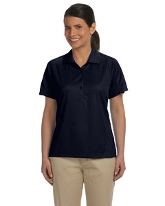 Navy Women's 3.8 oz. Polytech Mesh Insert Polo