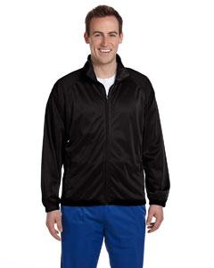 Black/black Men's Tricot Track Jacket