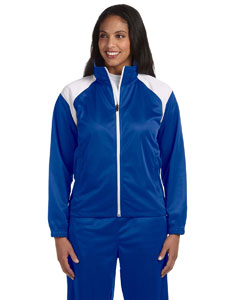 True Royal/white Women's Tricot Track Jacket