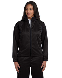 Black/black Women's Tricot Track Jacket