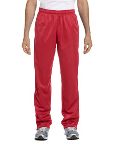 Red Men's Tricot Track Pants