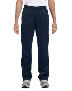 Navy Men's Tricot Track Pants