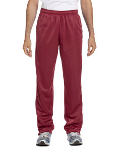 Maroon Men's Tricot Track Pants