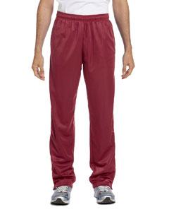 Maroon Men's Tricot Track Pants