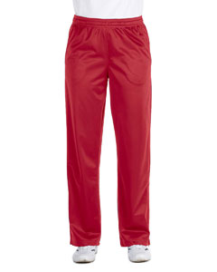 Red Women's Tricot Track Pants
