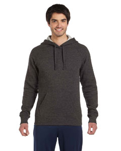 Dk Grey Heather Unisex Performance Fleece Pullover Hoodie