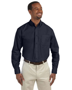 Navy Men's Value Poplin