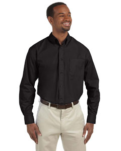 Black Men's Tall Value Poplin