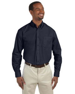 Navy Men's Tall Value Poplin