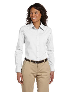 White Women's Value Poplin