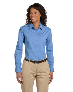 Light College Blue Women's Value Poplin