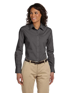Dark Grey Women's Value Poplin