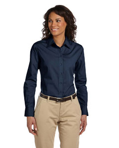 Navy Women's Value Poplin
