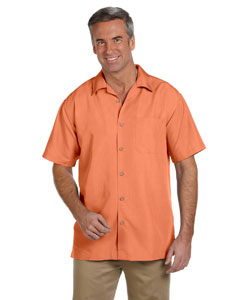 Nectarine Men's Barbados Textured Camp Shirt