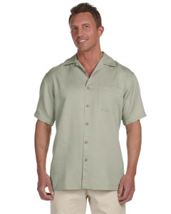 Green Mist Men's Bahama Cord Camp Shirt