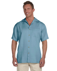 Cloud Blue Men's Bahama Cord Camp Shirt