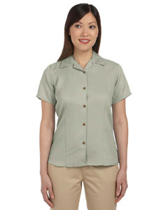 Green Mist Women's Bahama Cord Camp Shirt