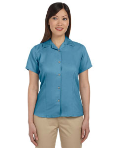 Cloud Blue Women's Bahama Cord Camp Shirt