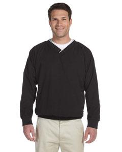 Black/white Microfiber Wind Shirt