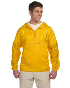 Sunray Yellow Packable Nylon Jacket