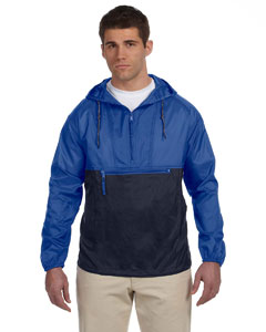 Royal/navy Packable Nylon Jacket