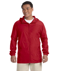 Red Men's Essential Rainwear