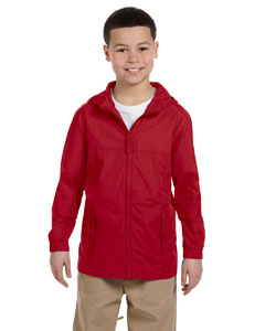 Red Youth Essential Rainwear
