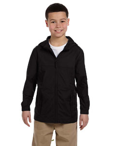 Black Youth Essential Rainwear