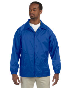 True Royal Nylon Staff Jacket
