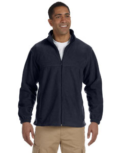 Navy Men's Full-Zip Fleece
