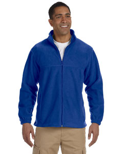 True Royal Men's Full-Zip Fleece
