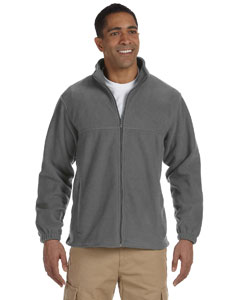 Charcoal Men's Full-Zip Fleece