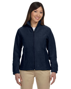 Navy Women's Full-Zip Fleece